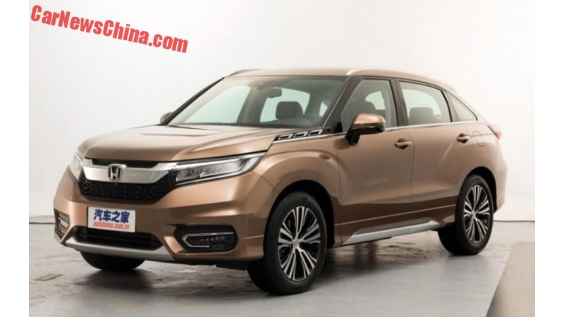 Honda Avancier SUV official images released
