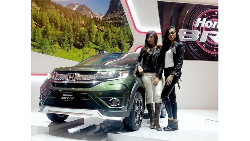 Unveiled: Honda BR-V in    Misty Green Pearl    exterior colour