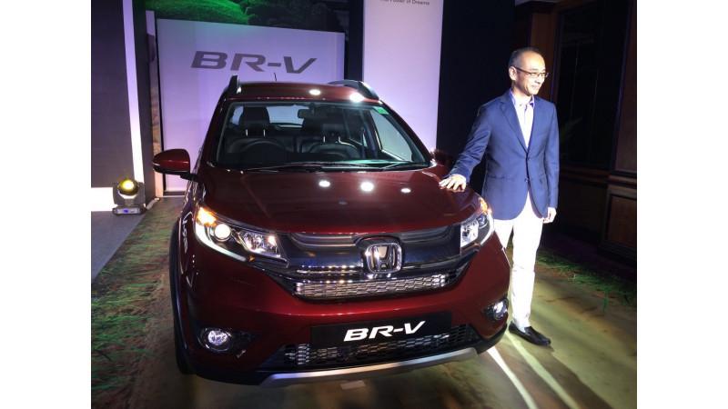 Honda launches BR-V in Mumbai at Rs 8.75 lakh