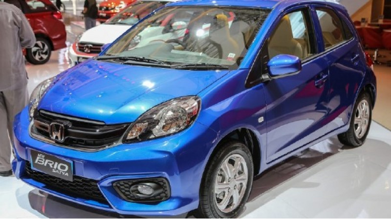 Honda Brio facelift and BR-V shown at 2016 Indonesia Auto Show