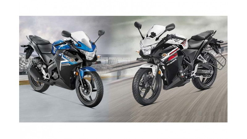 2015 Honda CBR150R offered for Rs 1,23,183 and CBR250R for Rs 1,60,201