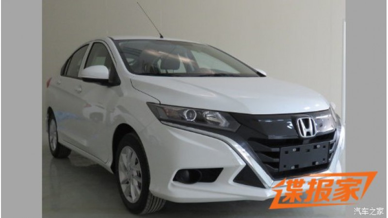 Honda City hatchback spotted in China