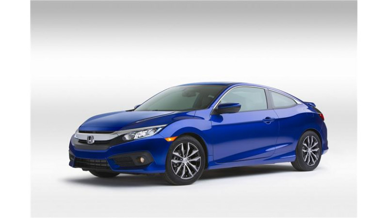New Honda Civic Coupe unveiled at LA Motorshow