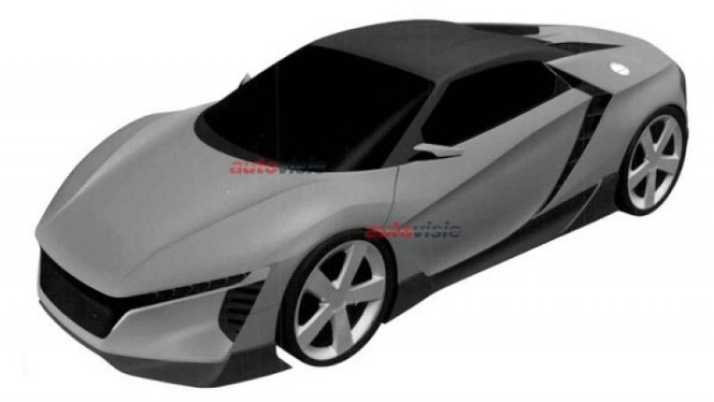 Honda ZSX to be a baby NSX?
