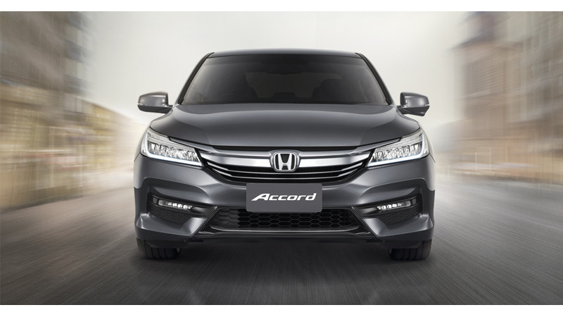 Honda unveils Accord facelift; To come to India soon
