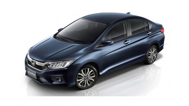 Honda launched the updated City in Japan