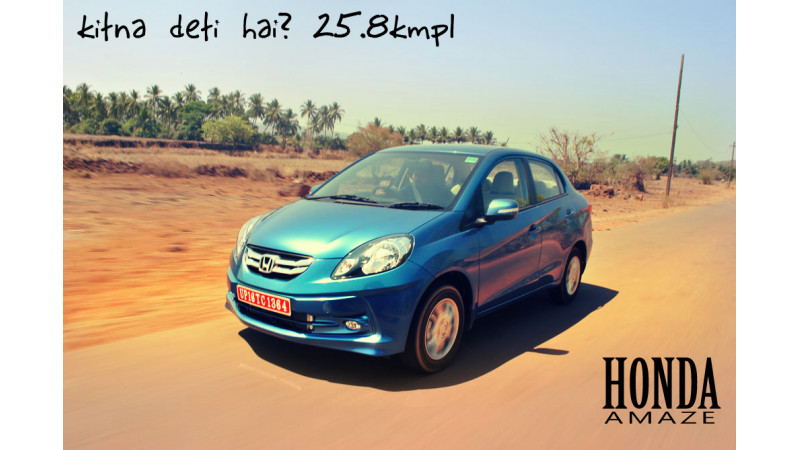 2013 Honda Amaze launches in India on 11th April, claims a mileage of 25.8kmpl