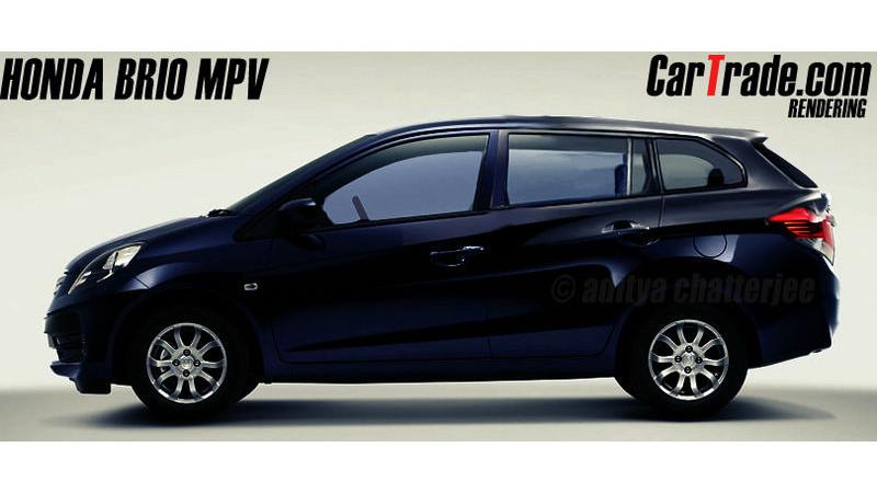 Upcoming Honda Brio Amaze MPV to compete with the Maruti Ertiga