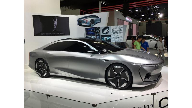 Honda China showcases C 001 design concept