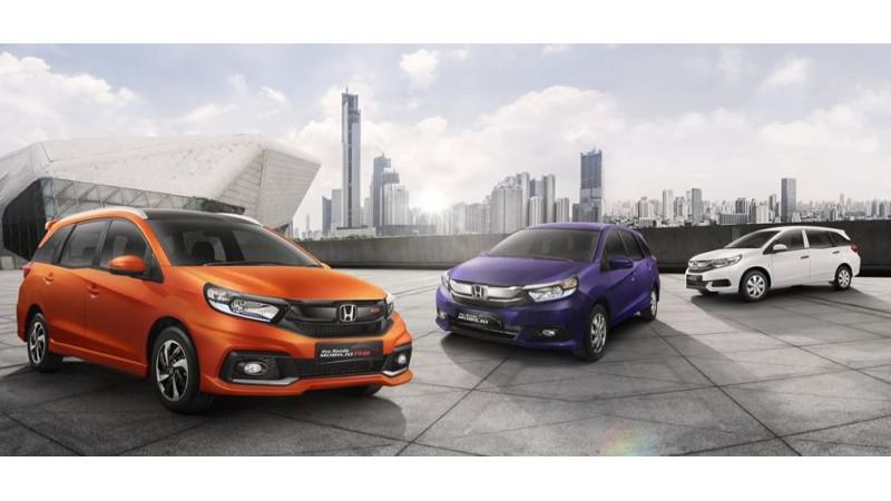 2017 Honda Mobilio facelift unveiled in Indonesia