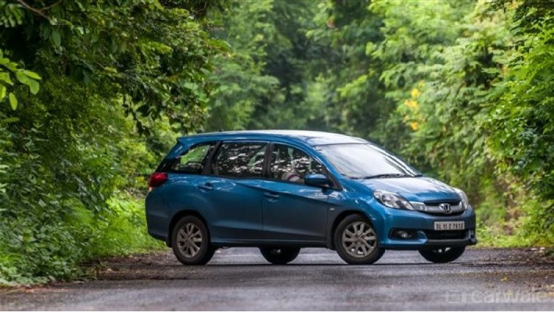 Honda Mobilio to be discontinued in India