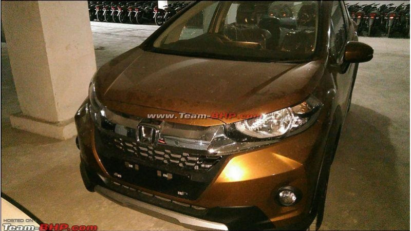 Honda WR-V interior spotted ahead of Indian debut