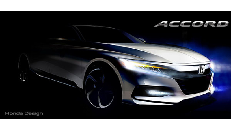 New Honda Accord to debut on July 14; teaser image revealed
