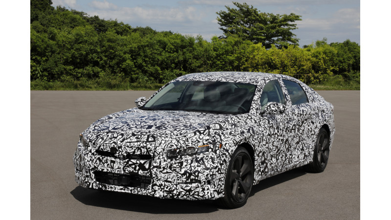 Honda teases all-new Accord with revised powertain