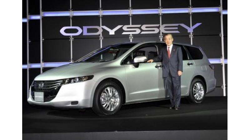 Honda Odyssey MPV can be a premium MPV for India
