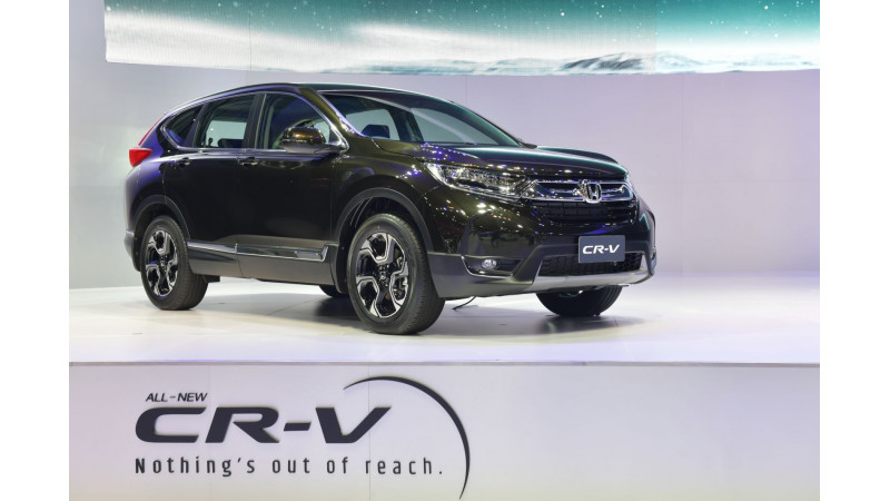 Honda showcases India-bound CR-V diesel at Bangkok Motor Show