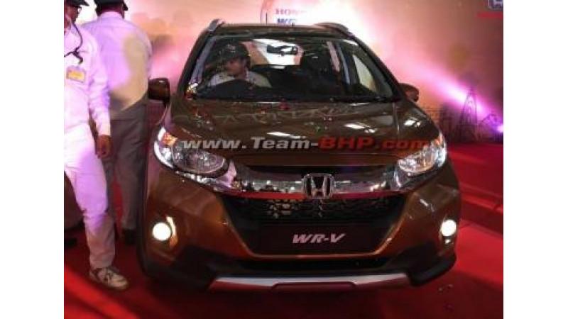 Honda WR-V production begins in India