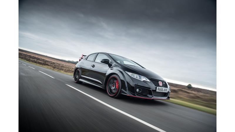 Honda Civic Type-R Black Edition revealed