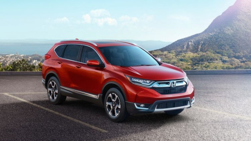 Honda introduces the 5th generation CR-V