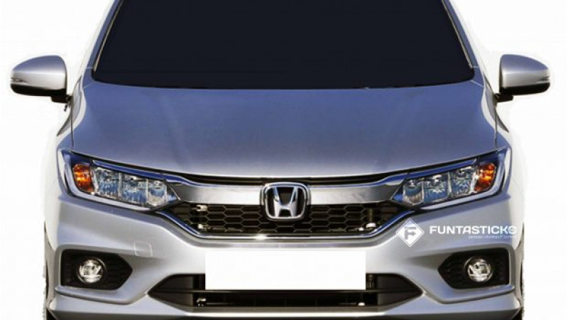 Honda City facelift spied ahead of launch