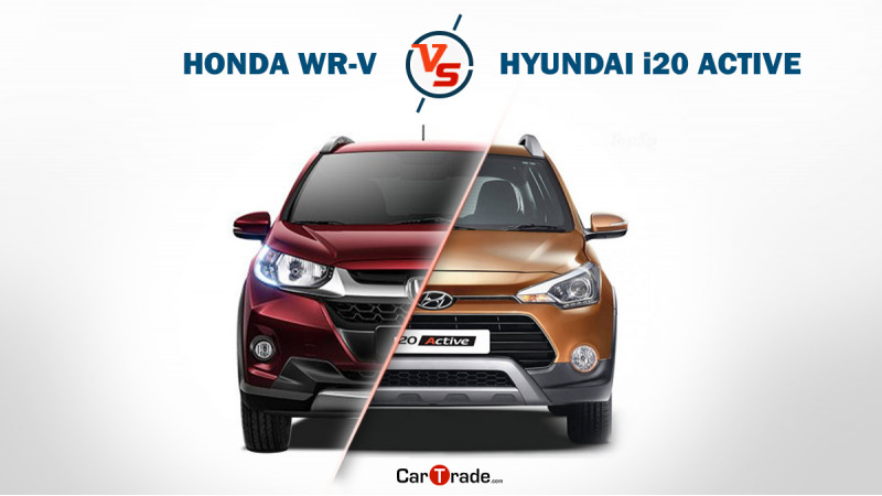 Honda WR-V vs. Hyundai i20 Active: Spec comparison