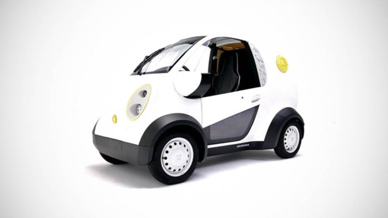3D printed electric vehicle showcased by Honda