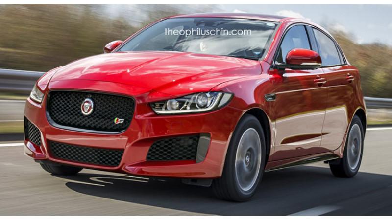 How will Jaguar XA look if rendered