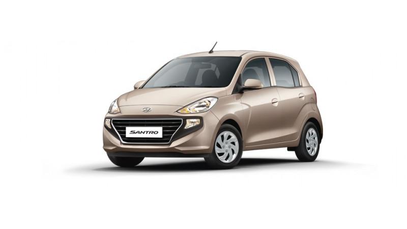 Hyundai revises Santro line-up in India