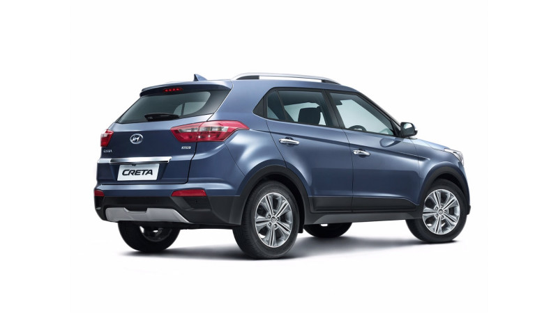 Hyundai Creta petrol AT live on official website sans price