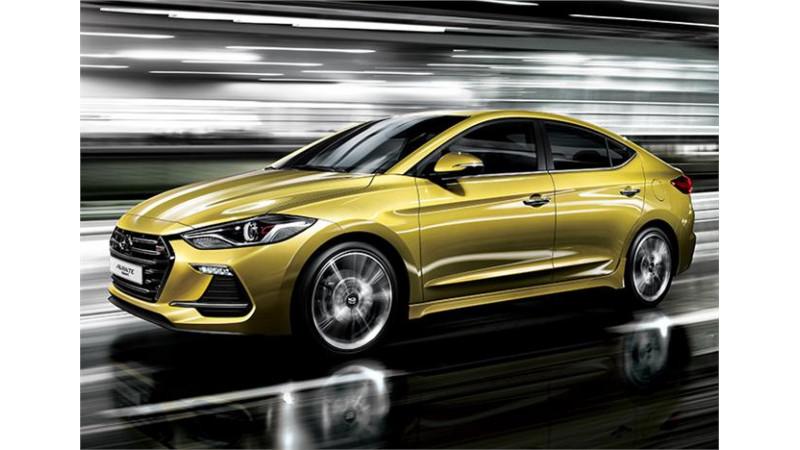 Hyundai Elantra Sport launched in South Korea