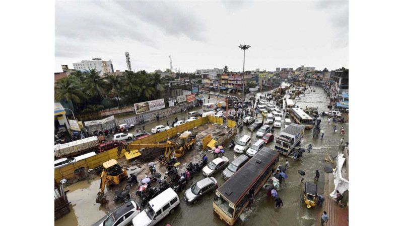Hyundai, Ford and Renault stop production in Chennai due to floods