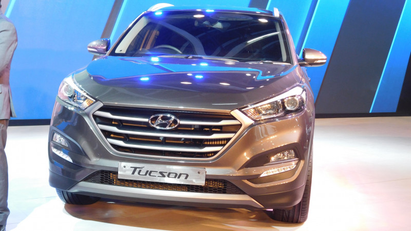 All-new Hyundai Tucson revealed at the Auto Expo 2016
