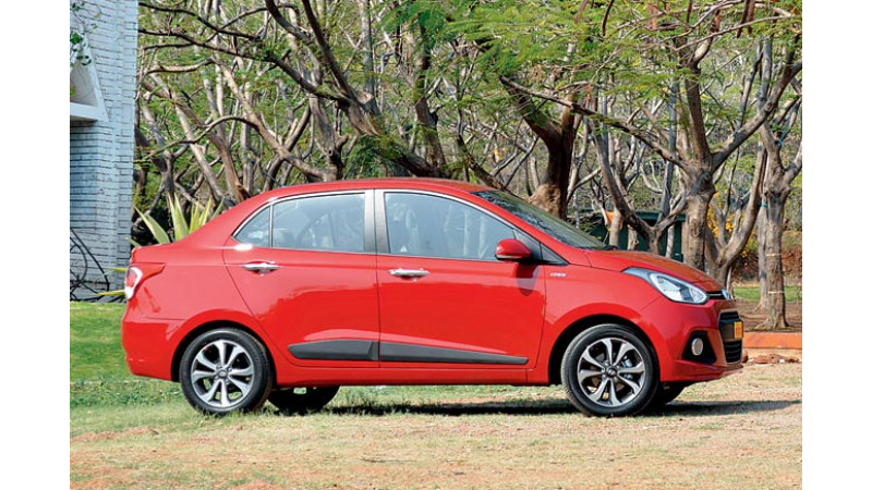 Facelifted Hyundai Xcent India launch on April 20