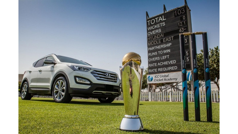 Hyundai kicks off Trophy Tour for the 2013 ICC Champions Trophy in New Delhi
