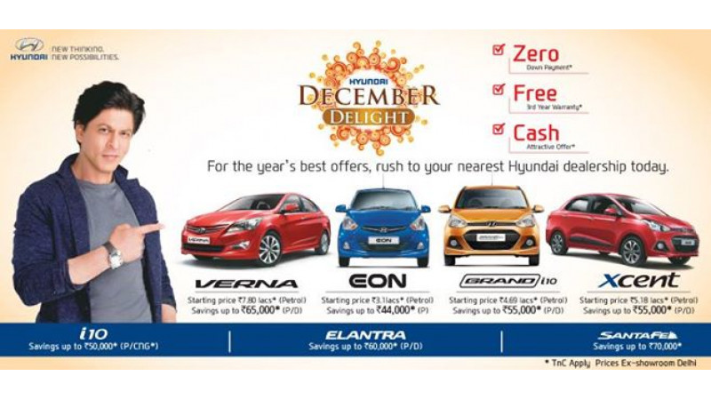 Hyundai offering year-end discounts