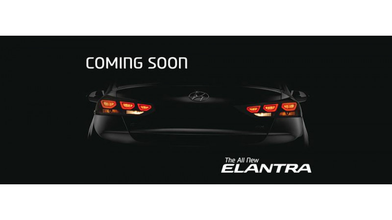 Next-gen Hyundai Elantra teased ahead of its launch this month