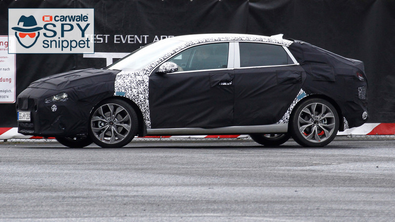 2018 Hyundai i30 Fastback spied