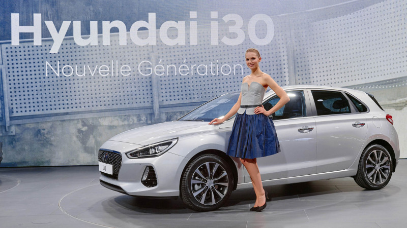 Hyundai premiers the i30 at the 2016 Paris Motor Show