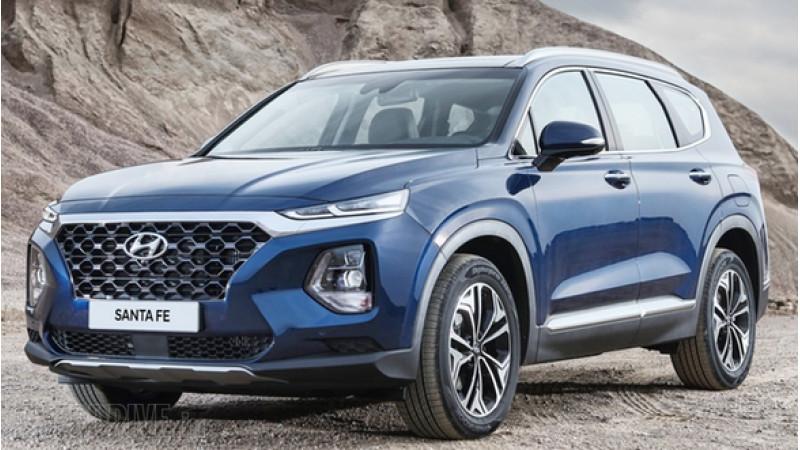 Fourth-generation Hyundai Santa Fe showcased at 2018 Geneva Motor Show