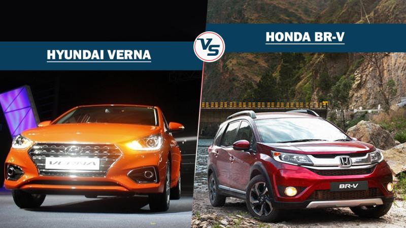 Spec comparison: Hyundai Verna Vs Honda BR-V