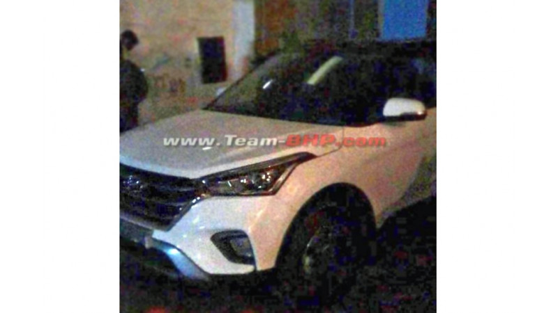 Production-ready Hyundai Creta facelift spotted
