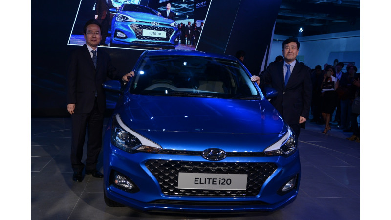 Hyundai Elite i20 facelift and Ioniq EV lead charge at Hyundai stall