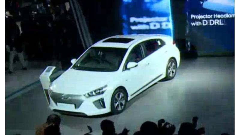 Hyundai unveils Ioniq EV in India