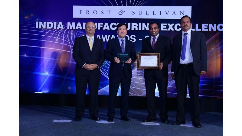 Hyundai Motors awarded 'Indian manufacturer of the year - 2016'