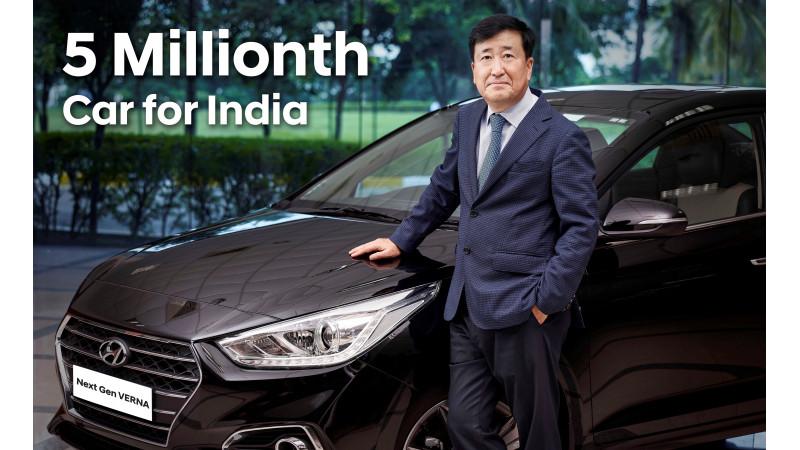 Hyundai Motor India crosses 5 millionth car production milestone