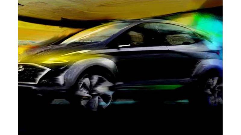 Hyundai Saga SUV concept teased