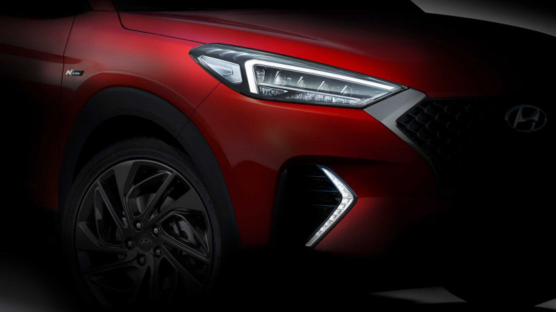 Hyundai Tucson N Line to be unveiled at Geneva