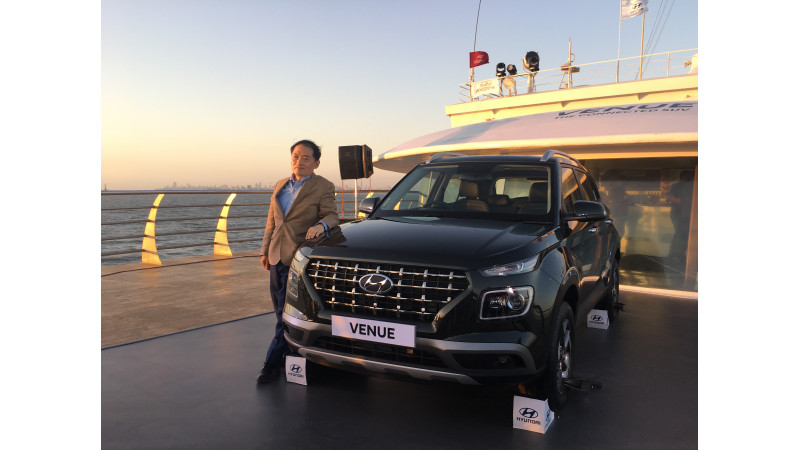 Hyundai launches Venue compact SUV in India at Rs 650000