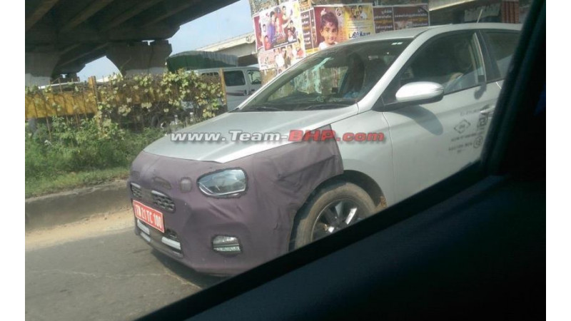 Fresh test mule images of Hyundai i20 facelift reveals more details