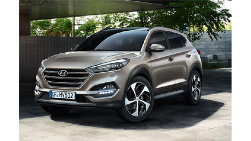 Hyundai Tucson 4WD launch in April 2017